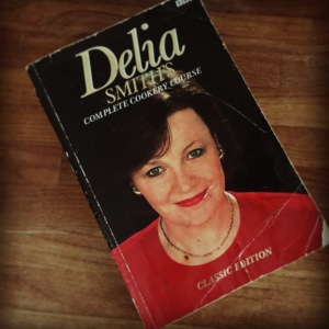 Delia Smith cookery book